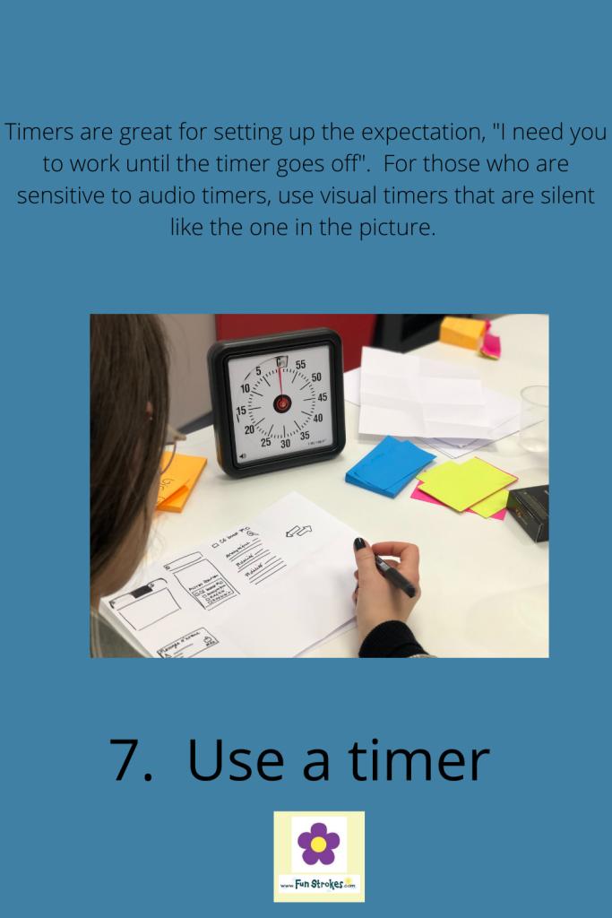 Use a timer