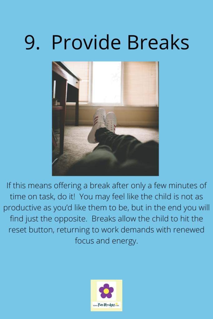 Provide Breaks