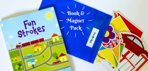 Fun Strokes Book and Magnet Pack