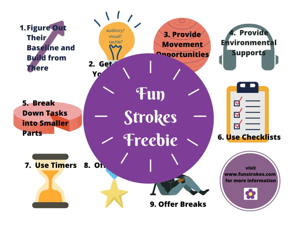 9 Strategies to Increase Attending Skills