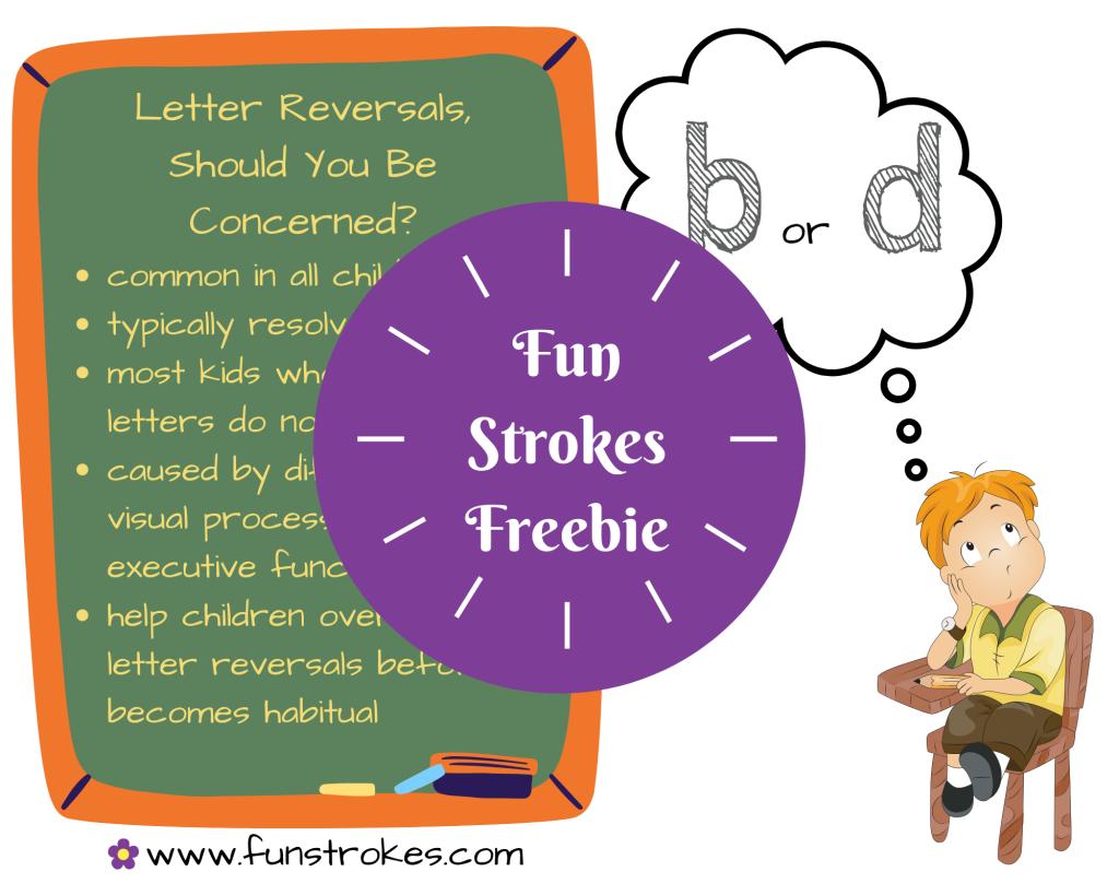 Letter Reversals, Should You Be Concerned?